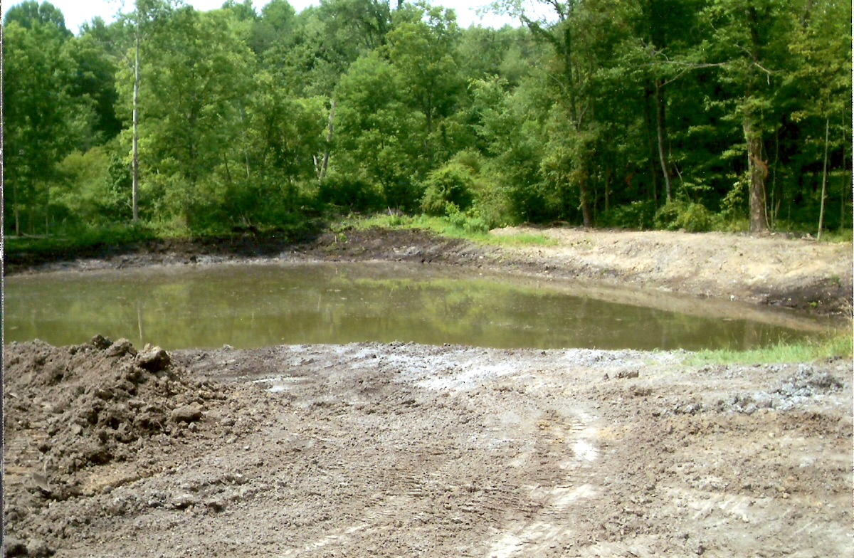 pond and lake construction howard 39 s excavating www ForSmall Pond Construction