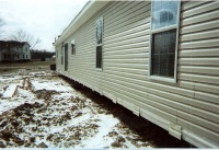 Manufactured Home Site Prep